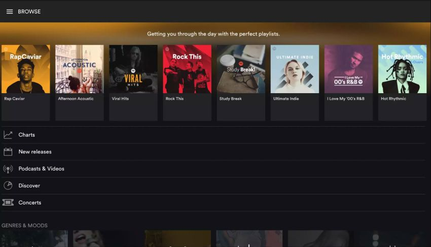 spotify android apps for chromebook