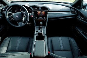 2017 Honda Civic Hatchback Sport Touring Review - Interior