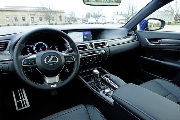 Step inside to experience a luxurious interior with highly customizable seats.