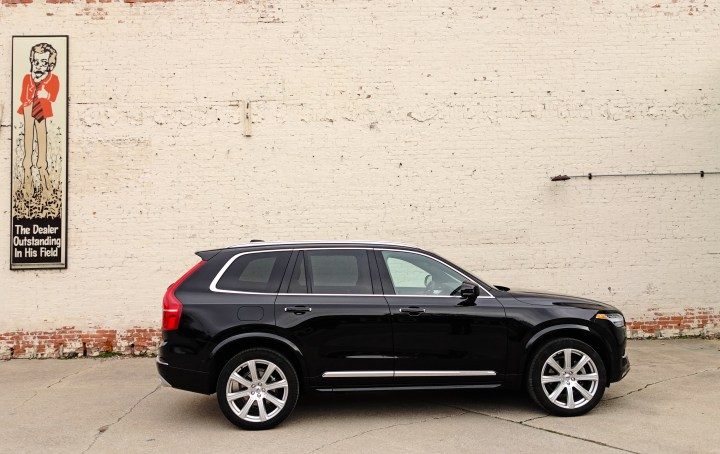 The Volvo XC90 is ready to go with multiple driving modes.