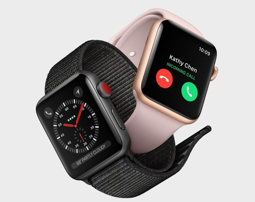 Aluminum Apple Watch is Lighter