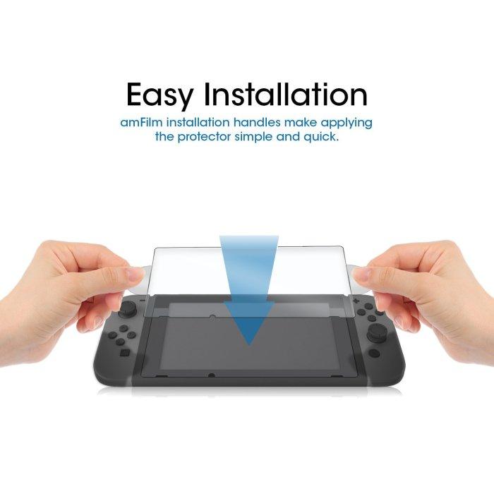 amFilm Nintendo Switch Tempered Glass 2-Pack – $8.99