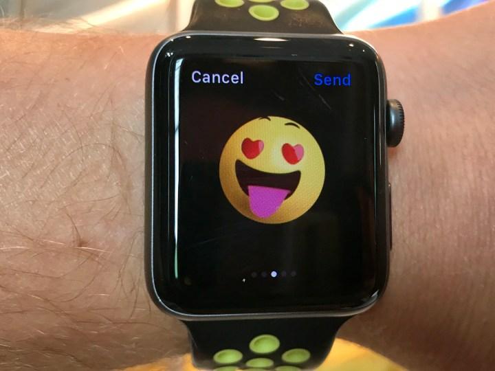Send Apple Watch Emoji