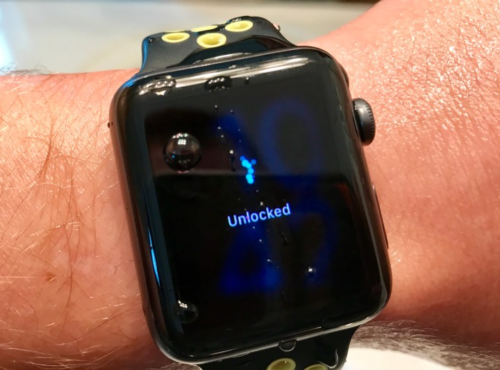 Use the Apple Watch in the Water