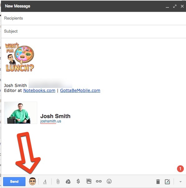 How to use Bitmoji in Gmail.