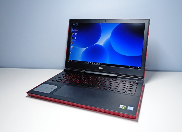 The Inspiron 15 7000 is a capable gaming notebook.