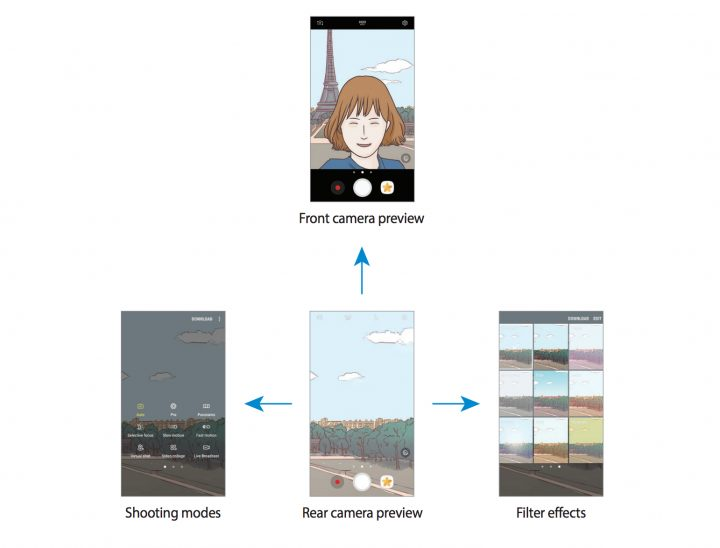 Install for These New Camera Gestures