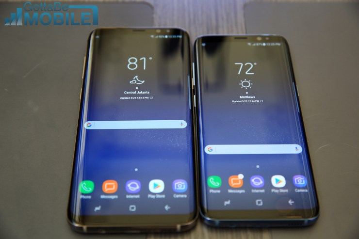 The differences between the Galaxy S8 and the Galaxy S8+ that you need to know.