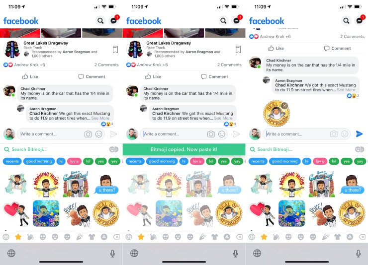 How to Use Bitmoji on Facebook