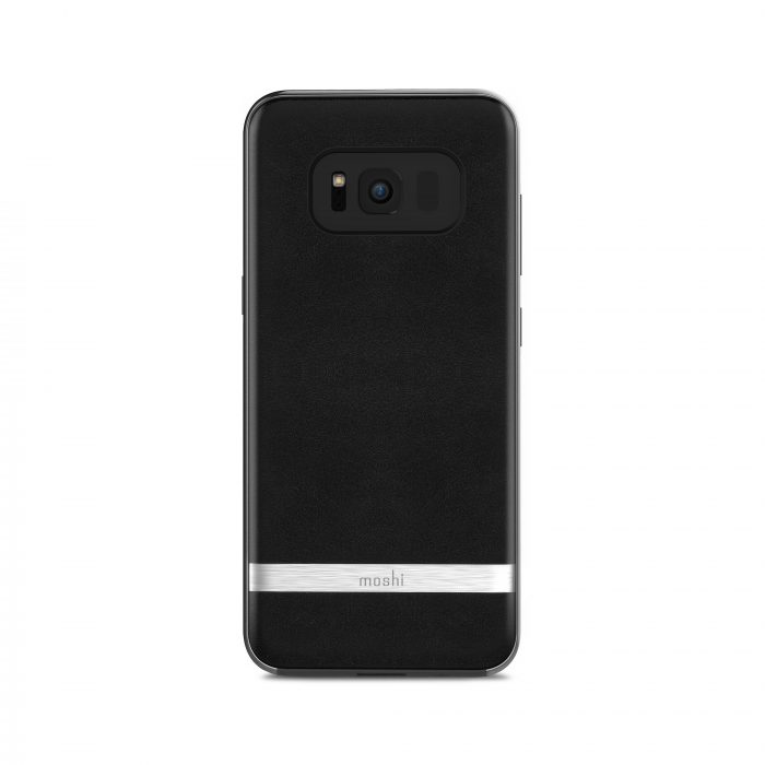 Leather Galaxy S8 case from Moshi.