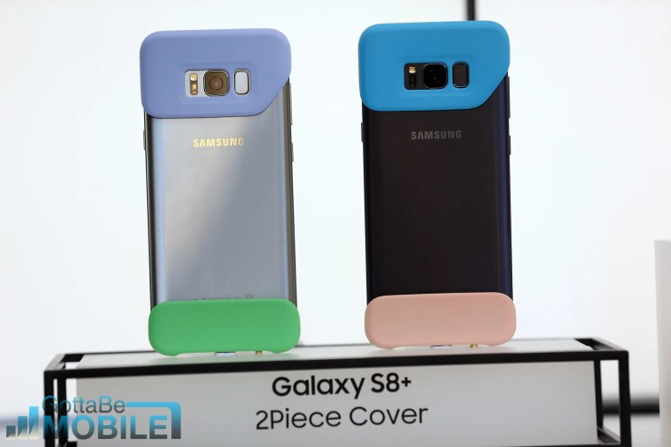 There are many Samsung Galaxy S8 cases and accessories already available.