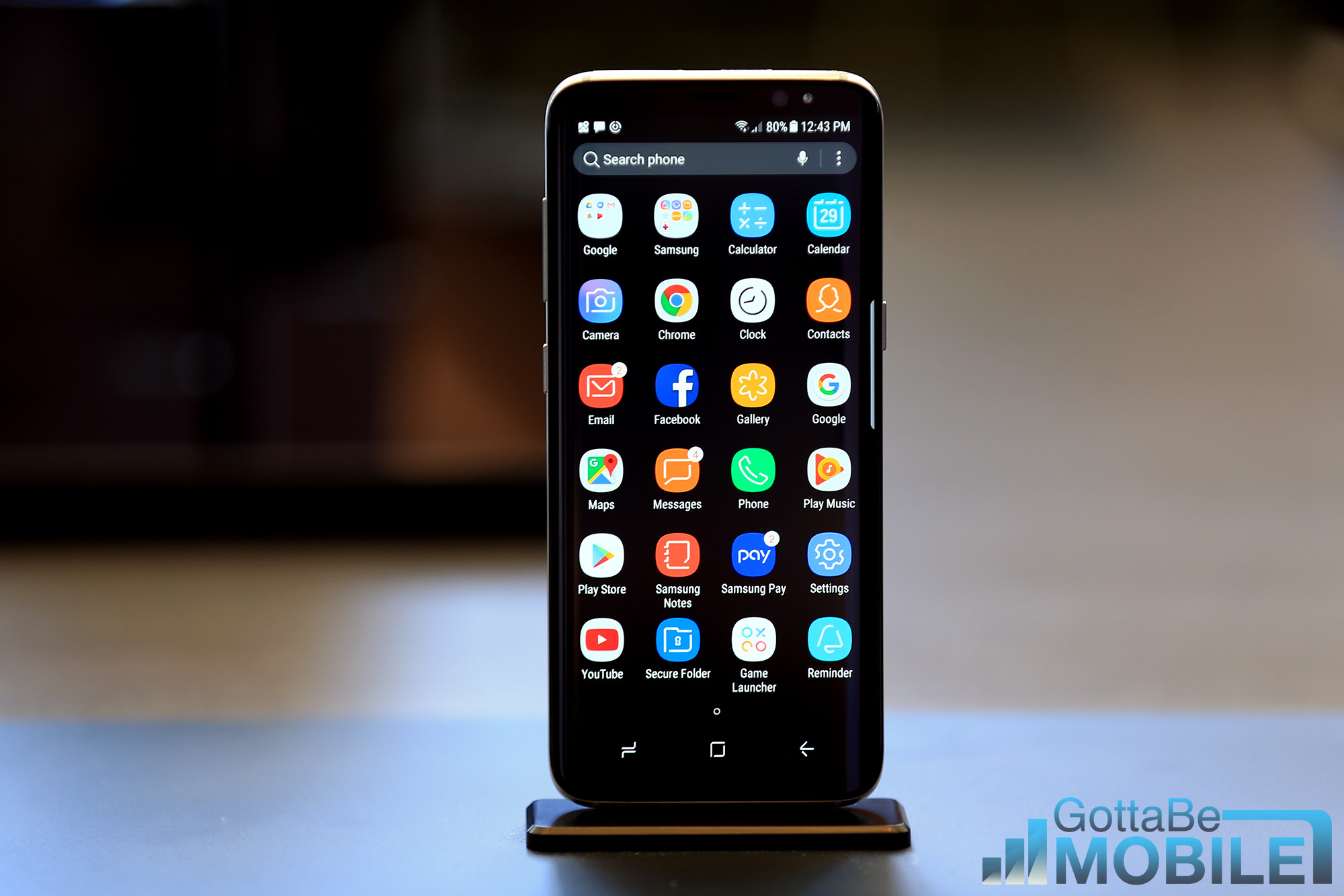 application samsung galaxy s8