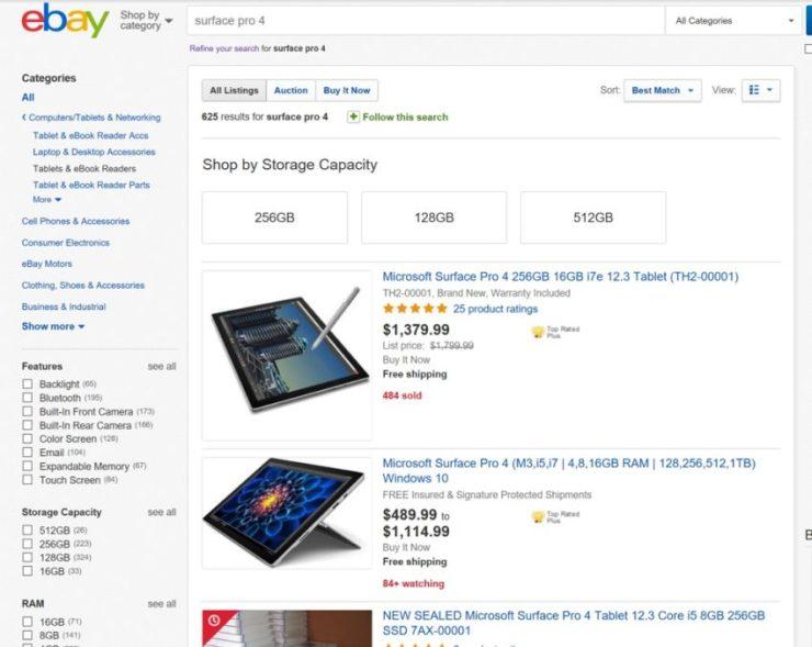 Best Surface Pro 4 Deals December 2017