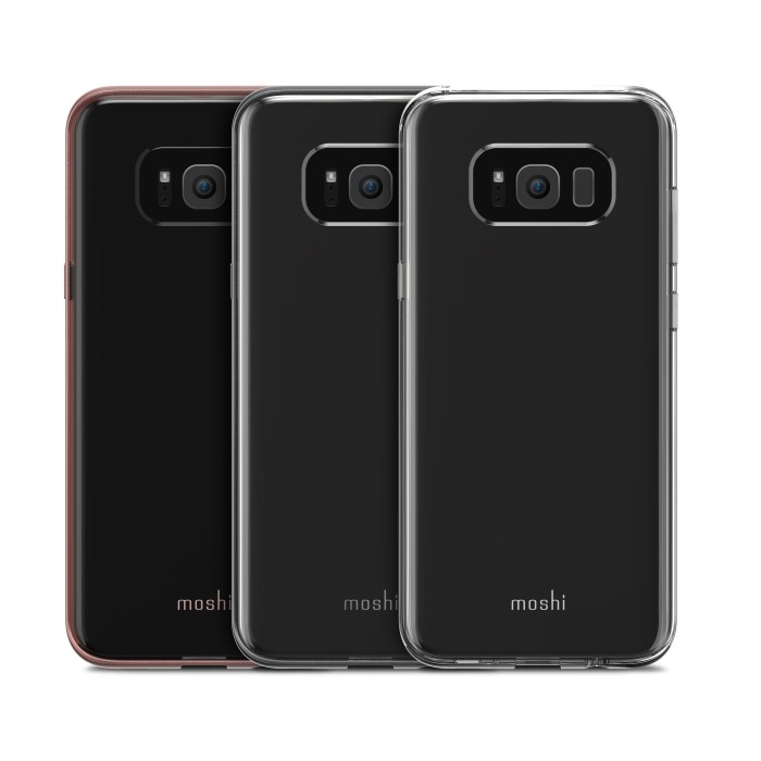 Clear Galaxy S8 Plus cases.