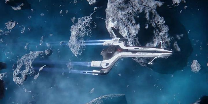 The Tempest in Mass Effect Andromeda.