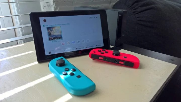 The recently released Nintendo Switch.