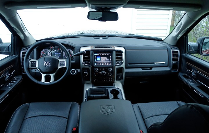 With multiple trim packages available, you can find one that matches your needs, like the Laramie shown here.