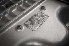 Custom Demon diecast emblem located on the cover the 6.2-liter supercharged HEMI® Demon V-8 engine.