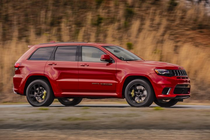 Expect a hefty Jeep Trackhawk price.