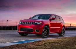 The 2018 Jeep Grand Cherokee Trackhawk is ready to go fast.