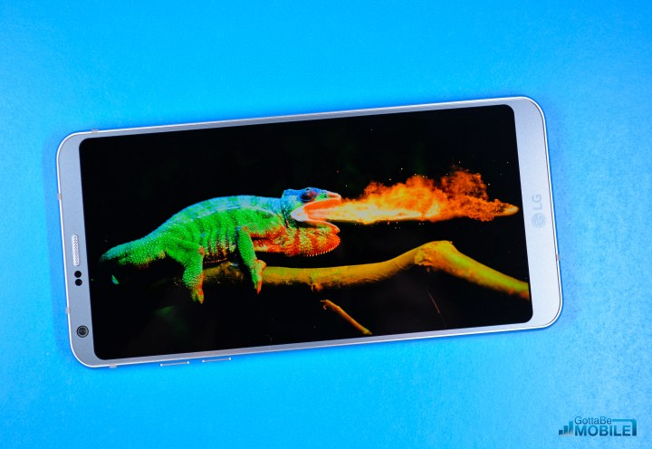 The LG G6 display is amazing and is likely better than your TV.