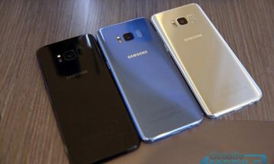 Galaxy S8 Fingerprint sensors and cameras on back of phone