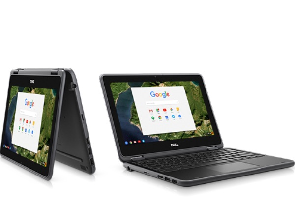 dell Chromebook-11 modes