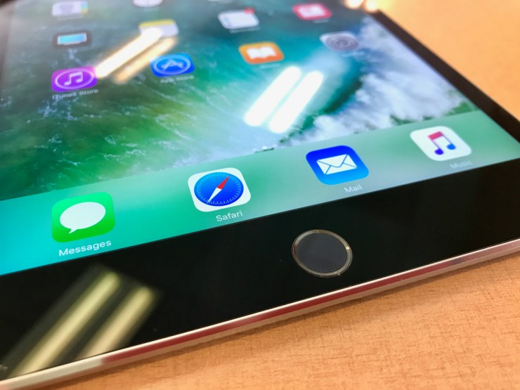 ipad mini 4 home button and touch ID