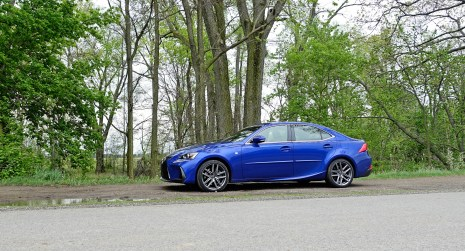 2017 Lexus IS 350 F Sport Review - 6