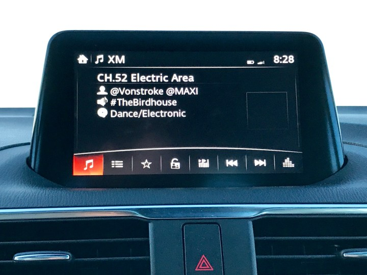 The Mazda Connect infotainment system is nice, but lacks CarPlay or Android Auto support at this stage.