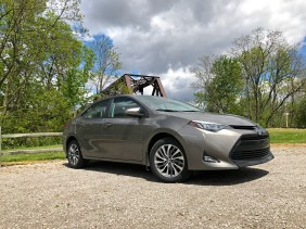 2017 Toyota Corolla Review - Angle