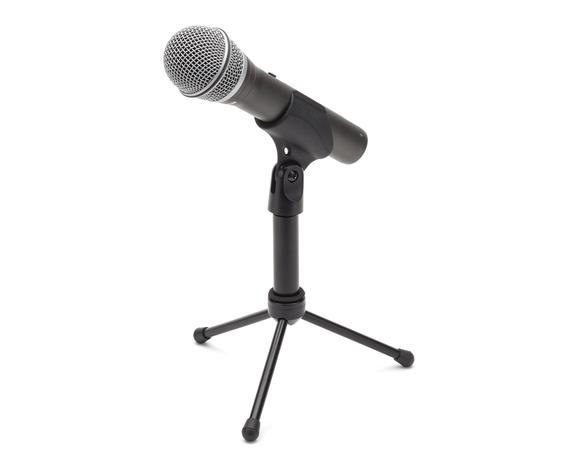 Samson Q2U Recording and Podcasting Pack with tripod