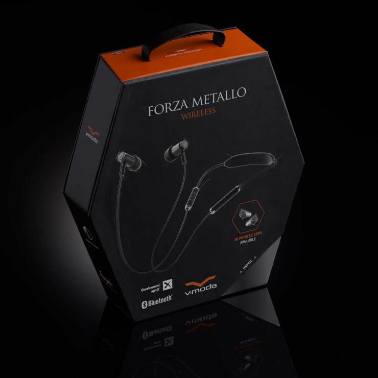 v moda forza wireless packaging