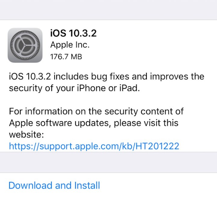 Get Familiar with iOS 10.3.2 & Other Updates If Needed
