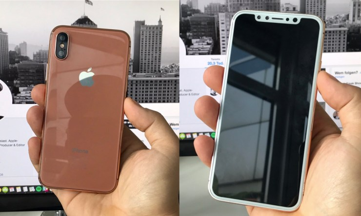 An iPhone 8 dummy unit from Ben Miller.