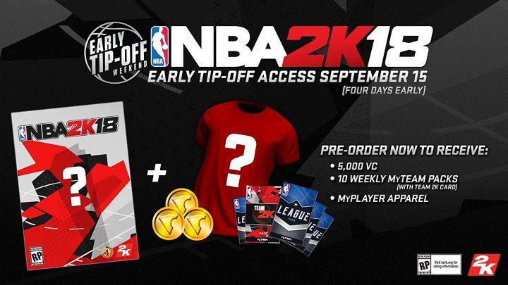 NBA 2K17 Standard Edition Extras