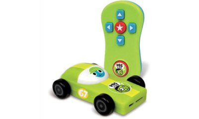 PBS Plug & Play: A safe streaming stick for kids looks like a race car