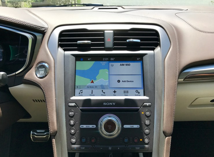 The new Sync 3 system is very nice and includes support for Apple CarPlay & Android Auto.