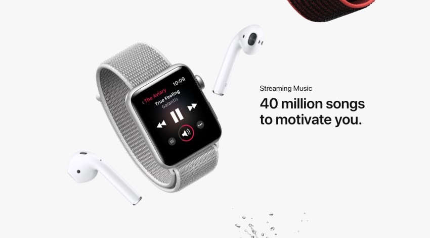 Stream Apple Music on You Apple Watch 3