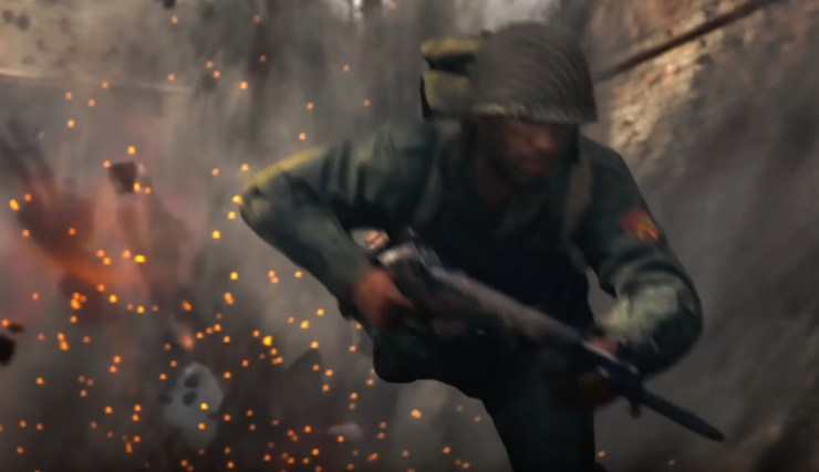 It looks like the dolphin dive is back in Call of Duty: WWII.