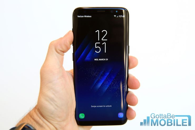OnePlus 5 vs Galaxy S8: Display