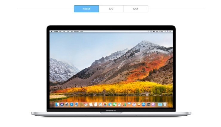 Sign up to be in the macOS High Sierra public beta now.