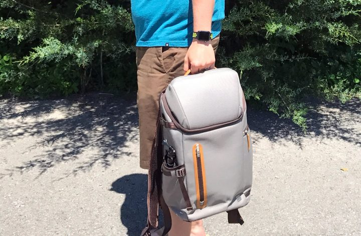 The Moshi Arcus backpack is an essential part of my daily routine.