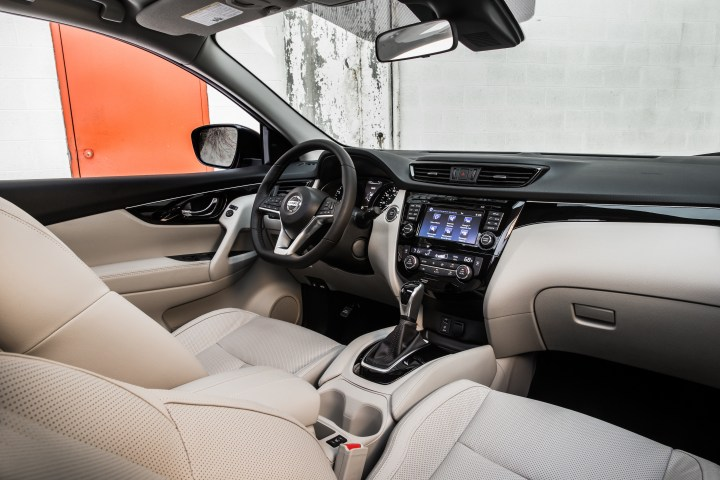 The main Nissan Rogue Sport packages add a larger touch screen and safety features.