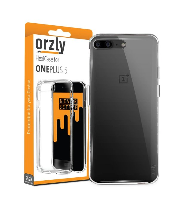 Orzly FlexiCase for OnePlus 5 ($7)