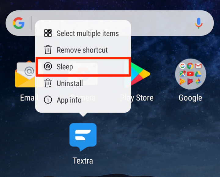 How to Sleep and Disable Apps on the Galaxy S8