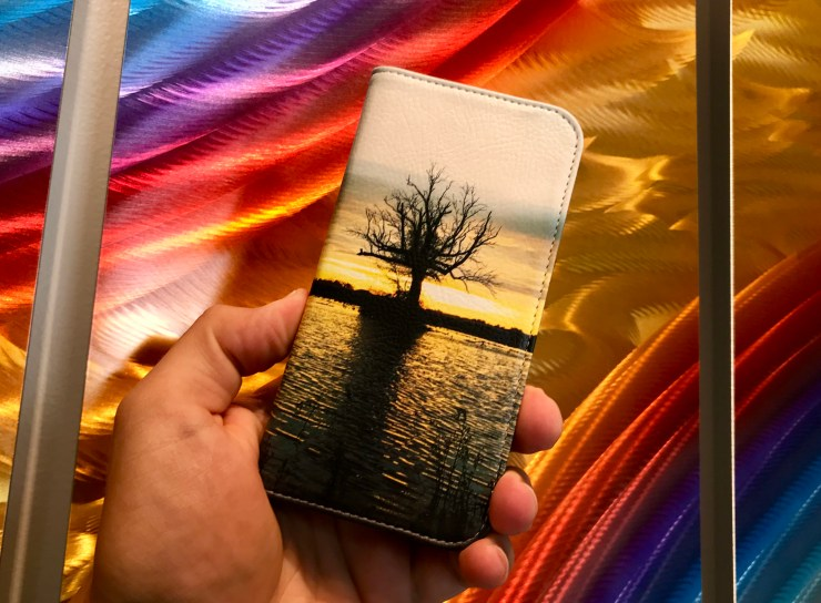 Skinit Custom iPhone 7 Folio Case