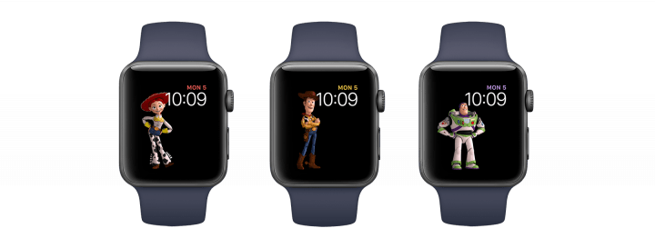 watchOS 4 Features New Toy Story Watch Faces