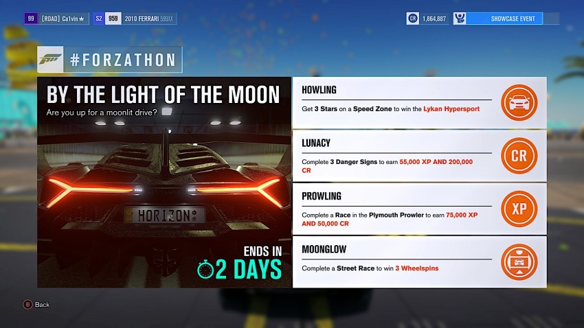 What you need to do to get the Lykan Hypersport as part of the July 21st Forzathon.