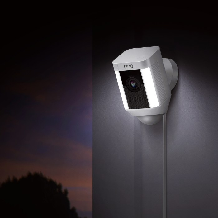 The Ring Spotlight Cam installs easily with three options that let you put a camera and lights anywhere.
